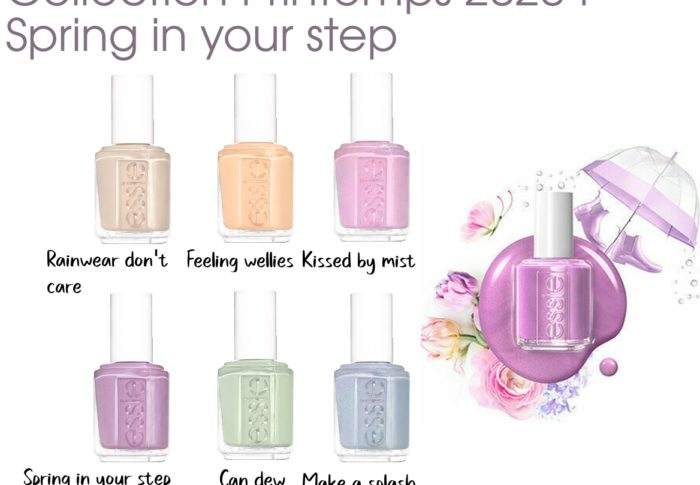 Ma Sélection pour ce printemps  – Spring in your step : La prochaine collection by Essie ♥ !